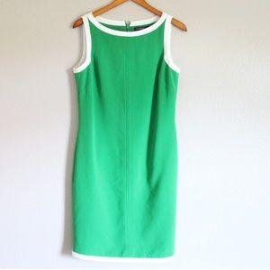 Banana Republic Green Shift Dress